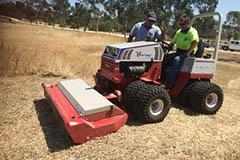 Mower Mate SA school ground lawnmowing Adelaide